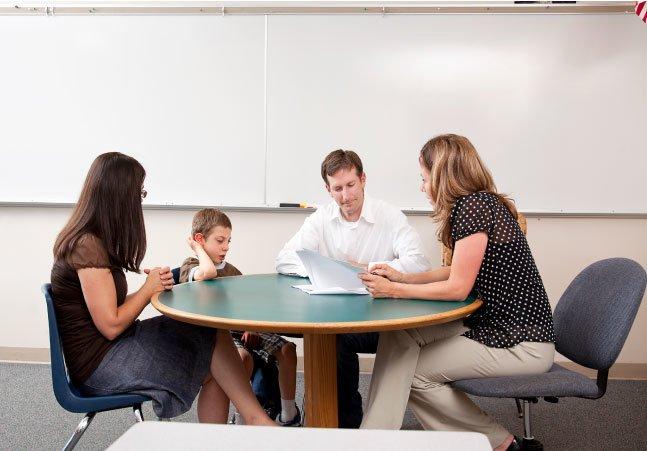 teacher parent student