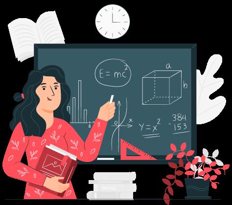 experienced teachers at blackboard tip-top brain