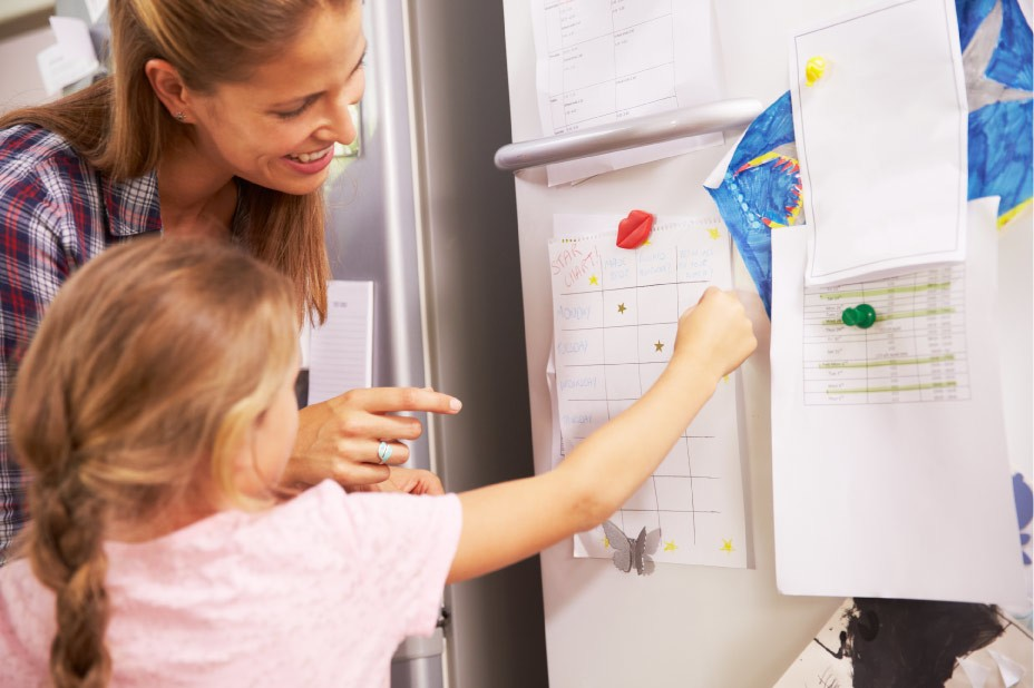 parent rewards child