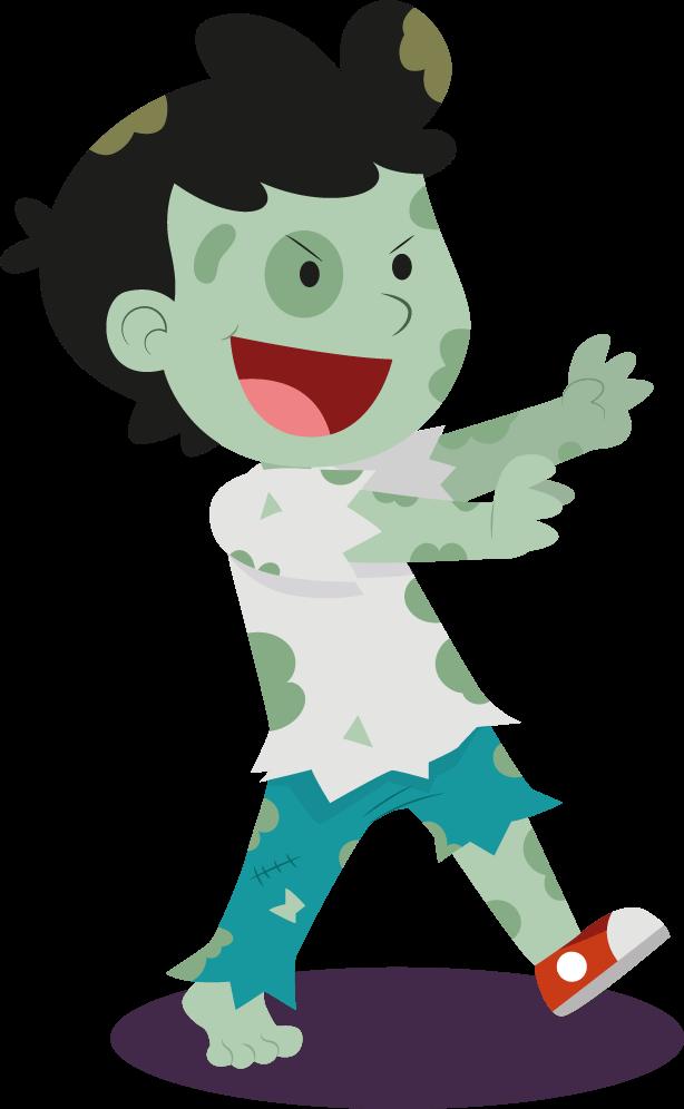 zombie kid halloween