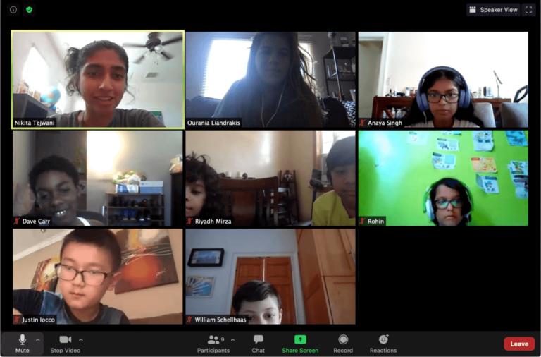 online tutoring group zoom